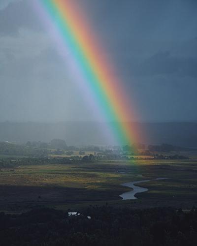 den perfekte krop - for enden af regnbuen